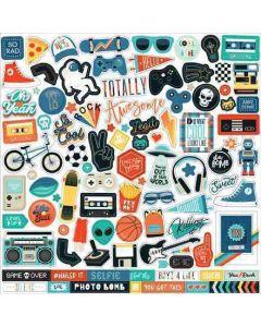 Teen Spirit Boy Element Stickers - Echo Park
