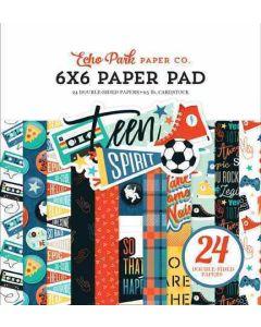 "Teen Spirit Boy 6"" x 6"" Paper Pad - Echo Park"