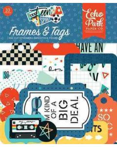 Teen Spirit Boy Frames & Tags - Echo Park