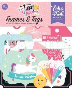 Teen Spirit Girl Frames & Tags - Echo Park