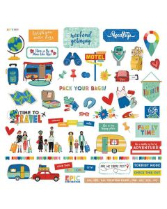 Time to Travel Element Stickers - PhotoPlay