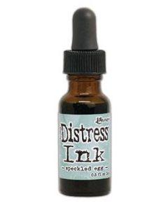 Speckled Egg Distress Ink Pad Re-Inker, 0.5 oz - Tim Holtz - Ranger