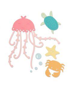 Under the Sea Sizzix die