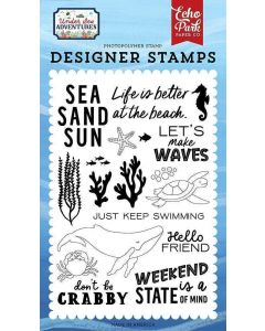 Make Waves Stamps - Under Sea Adventures - Echo Park