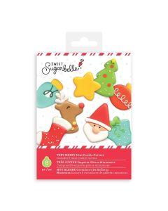 Very Merry Mini Cookie Cutters - Sweet SugarBelle