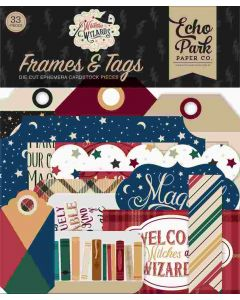 Witches & Wizards Frames & Tags - Echo Park*