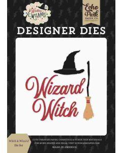 Witches & Wizards Die Set - Echo Park*