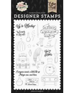 Wizard at Heart Stamp Set - Witches & Wizards - Echo Park*
