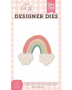 Sweet Rainbow Die - Welcome Baby Girl - Echo Park