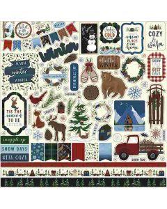 Warm & Cozy Element Stickers - Echo Park