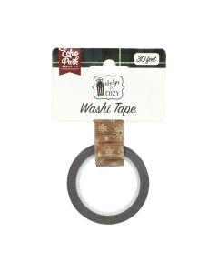 Winter Woodgrain Washi Tape - Warm & Cozy - Echo Park
