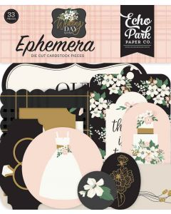 Wedding Day Ephemera - Jen Allyson - Echo Park