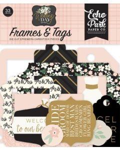 Wedding Day Frames & Tags - Jen Allyson - Echo Park