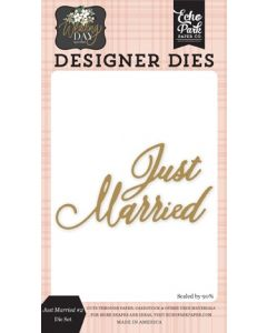 Just Married #2 Die Set - Wedding Day - Jen Allyson - Echo Park - Clearance