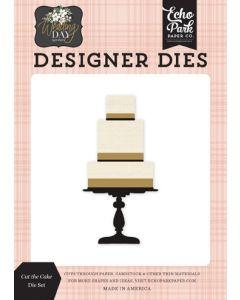 Cut The Cake Die Set - Wedding Day - Jen Allyson - Echo Park