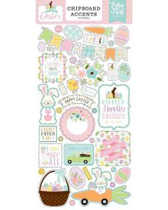 Welcome Easter Chipboard Accents - Echo Park