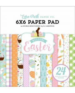 """Welcome Easter 6"""" x 6"""" Paper Pad - Echo Park"""