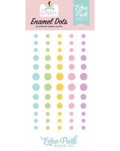 Welcome Easter Enamel Dots - Echo Park