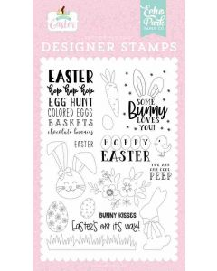 Bunny Kisses Stamp Set - Welcome Easter - Echo Park