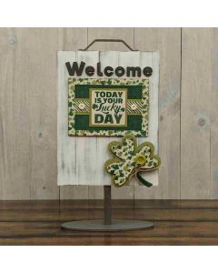 Welcome Lucky Sign
