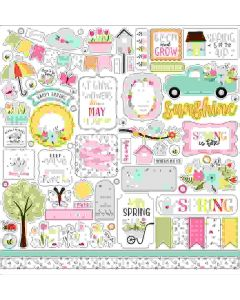 Welcome Spring Element Stickers - Echo Park