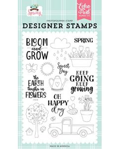 Sweet Day Stamps - Welcome Spring - Echo Park