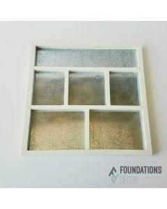 White Shadow Box Foundations Decor