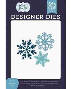 Magical Snowflakes Dies - Winter Magic - Echo Park