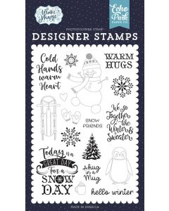Warm Hugs Stamps - Winter Magic - Echo Park