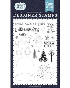 You Melt My Heart Stamps - Winter Magic - Echo Park