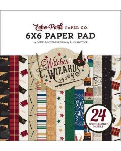 """Witches & Wizards No. 2 6"""" x 6"""" Paper Pad - Echo Park*"""