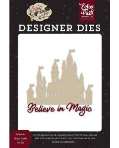 Believe In Magic Castle Dies - Witches & Wizards No. 2 - Echo Park*