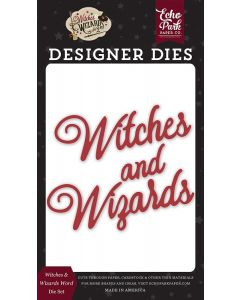 Witches Wizards Word Dies - Witches & Wizards No. 2 - Echo Park*