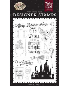 Believe In Magic Stamps - Witches & Wizards No. 2 - Echo Park*