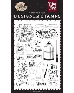 You Are Magic Stamps - Witches & Wizards No. 2 - Echo Park*