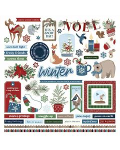 Winter Memories Element Stickers - PhotoPlay*