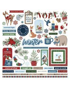 Winter Memories Element Stickers - PhotoPlay*