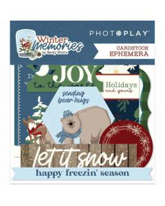 Winter Memories Ephemera - PhotoPlay*