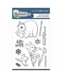 Winter Memories Stamps - PhotoPlay*
