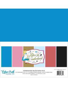 Alice in Wonderland no. 2 Solids Kit - Echo Park