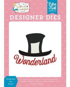Wonderland Hat Die Set - Alice in Wonderland no. 2 - Echo Park