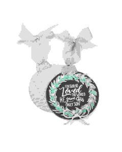 Katelyn Lizardi Wreath Ornament Stamp & die Set