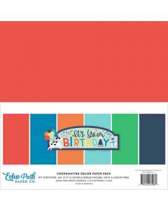 It's Your Birthday Boy Solids Kit - Echo Park