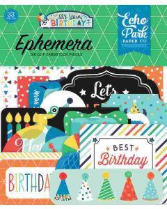 It's Your Birthday Boy Ephemera - Echo Park