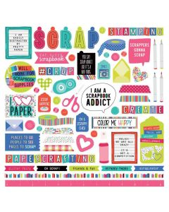 You Had Me At Paper Element Stickers - PhotoPlay - Clearance
