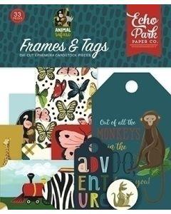 Animal Safari Frames & Tags