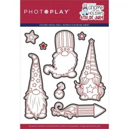 PhotoPlay Etched Die-Gnome For Christmas
