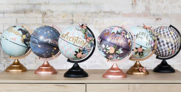 american crafts globe gallery globe options