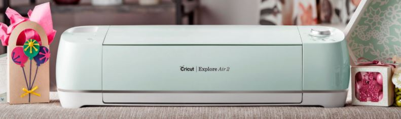 cricut explore aire 2 machine front view