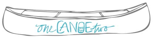 one canoe two logo